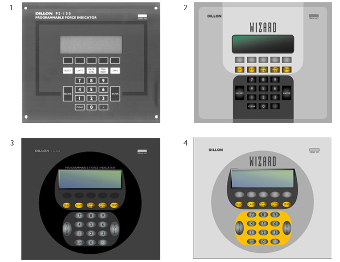 industrial scale user interface evolution
