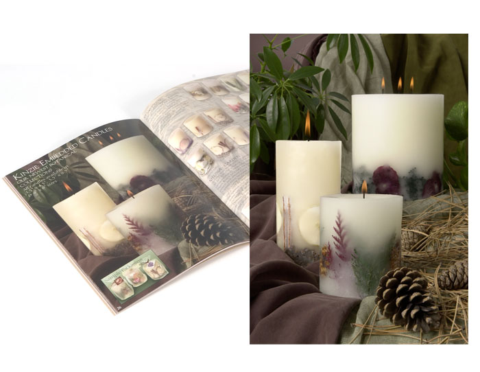 photography for Acadian candles