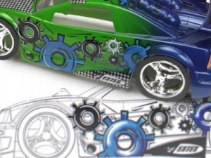 Toy-car graphics