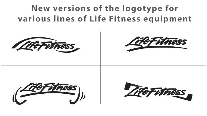 Life Fitness logotype refresh