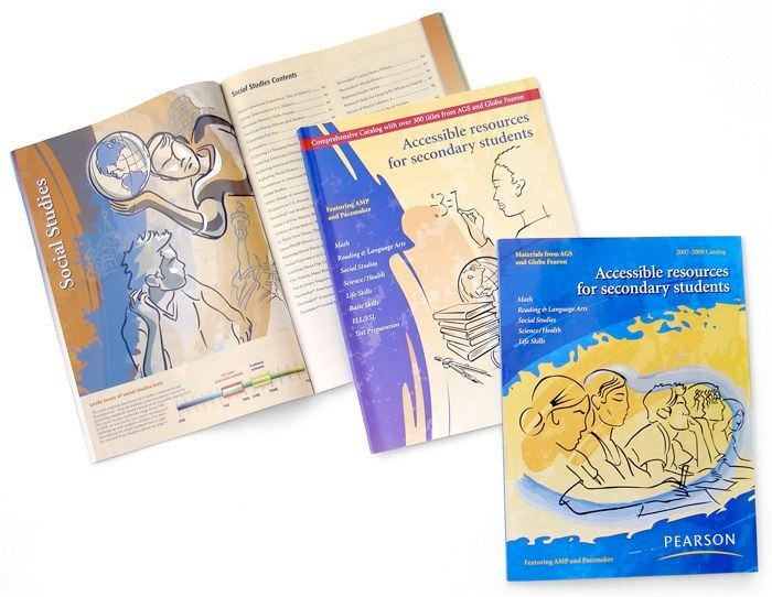 catalog cover illustrations