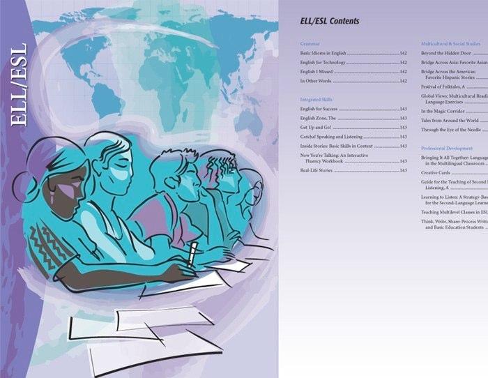 "catalog ""ESL-ELL"" chapter"