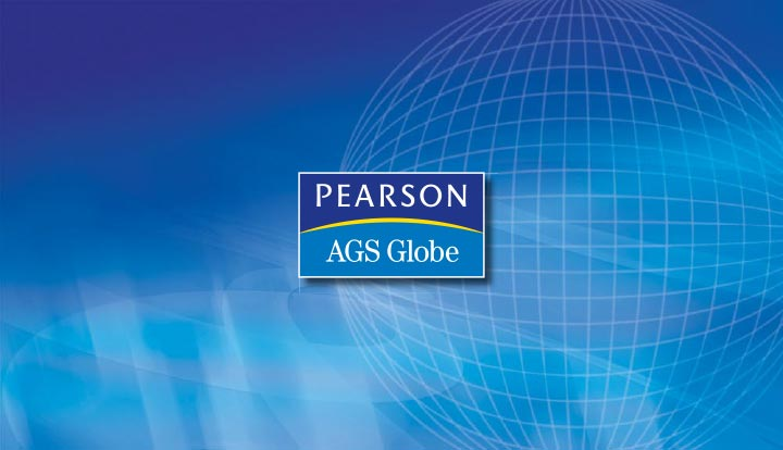 Slideshow screen designed for Pearson