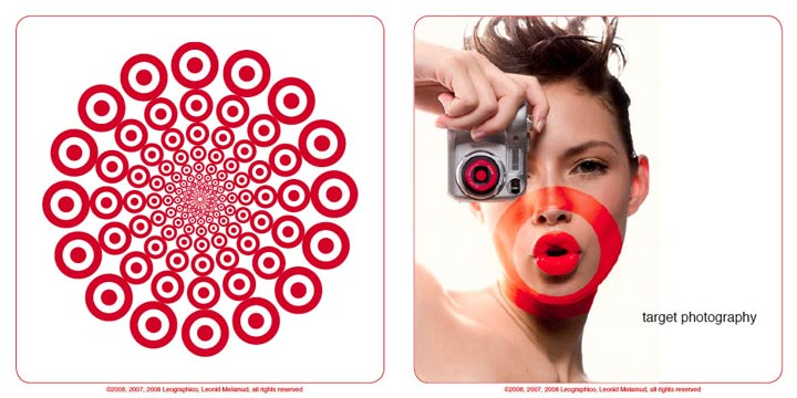 ©Leo Melamud: advertising concept for Target